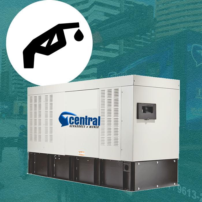 Central geradores serviço remoção